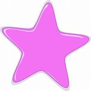 Light Pink Star Clip Art at Clker.com - vector clip art ...