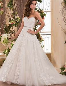 a line 2015 new sweetheart beaded white ivory strapless With white beaded wedding dress