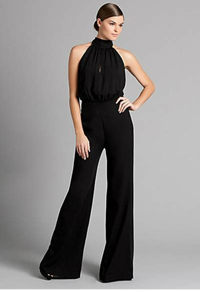 wide leg dress dressy jumpsuit 13