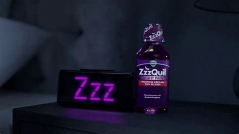 zzzquil pain vicks night interrupted commercial soundly sleep ads ad spot silence