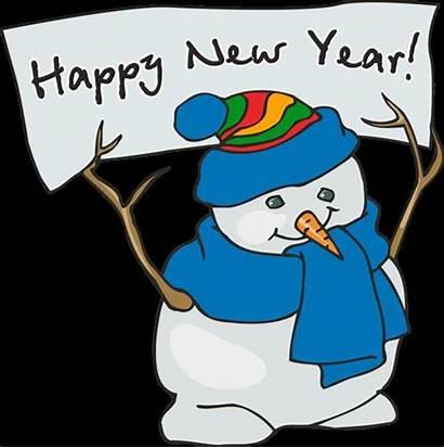 Happy Clipart Clip Safe Eve January Snowman