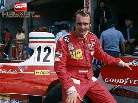 Briton james hunt was in his first ferrari 312 t2 engine configuration type 015 180º v12 location mid, longitudinally mounted weight 170 kilos / 374.8 lbs construction light alloy. Niki Lauda 1976 Racing Suit / Team Ferrari F1 | The GPBox