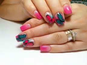 Butterfly nail art for beginners : Cute butterfly nail art design ideas inspiring
