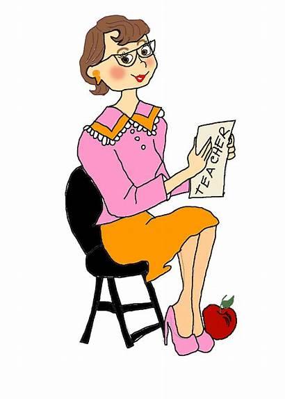 Teacher Clipart Chair Talk Student Tuesday Pixie