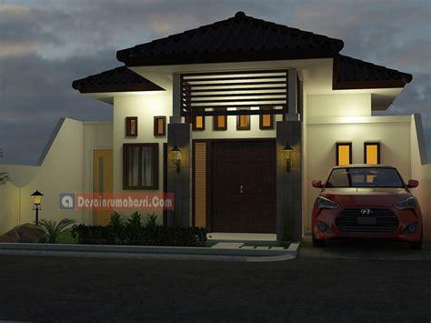 rumah minimalis lantai desain rumah asri