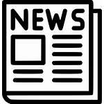 Newspaper Icon Svg Onlinewebfonts
