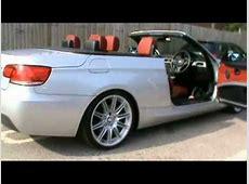 2008 BMW 320i MSport Convertible 20 Petrol Silver YouTube