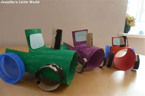 Tractors, Transportation Crafts And Toddler Crafts On