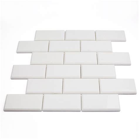 2 X 8 Beveled Subway Tile by White Thassos 2x4 Beveled Marble Tile