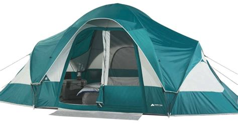 walmart ozark trail  person family tent   shipped  camping deals hipsave