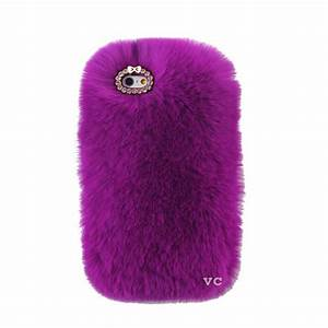 Cozy Fur Phone Case Purple – VelvetCaviar.com
