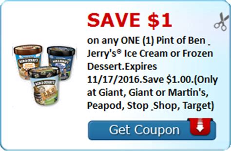 38604 Ben Jerrys Coupon by Ben Jerry S Coupon Seriously Free Stuff