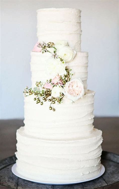 Best 25+ Wedding Cake Simple Ideas Only On Pinterest