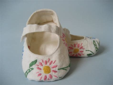 Vintage Baby Mary Janes