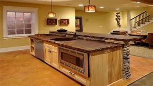 island for kitchen, Rustic Kitchen Island Ideas Stone