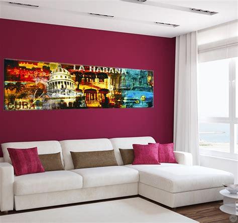 tableaux pour cuisine tableau ville cuba la havane artwall and co