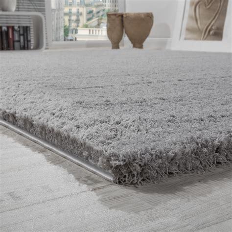 teppich wohnzimmer grau shaggy teppich micro polyester wohnzimmer teppiche hochflor grau wohn und schlafbereich