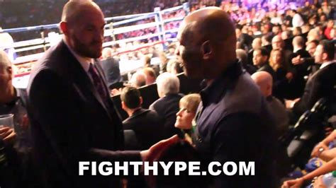 Tyson Fury tyson fury meets mike tyson  heavyweight legend 1280 x 720 · jpeg