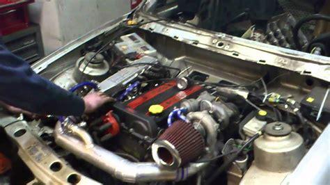 ford sierra  dohc turbo youtube