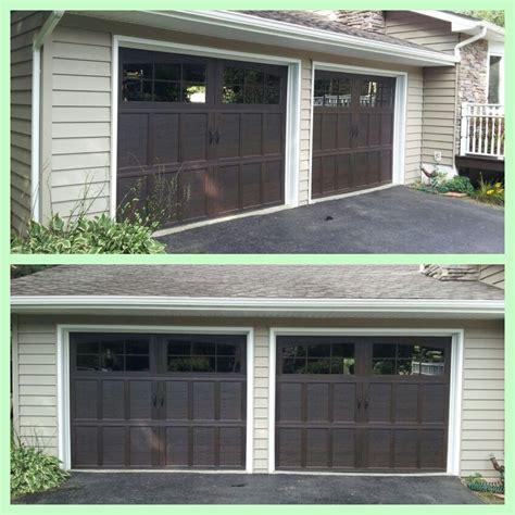 Dalton Garage Door by Wayne Dalton 9700 Mahogany Overhead Doors Looks To Me
