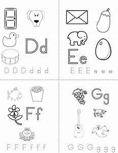 my abc book twisty noodle With printable alphabet book template