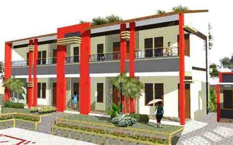 desain rumah kost sederhana cantik gambar desain rumah