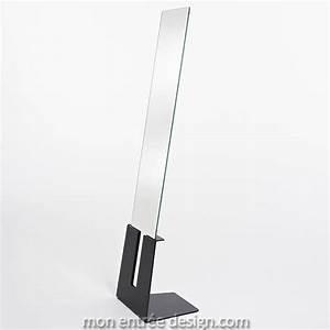 Miroir Sur Pied : miroir sur pied design slide standing deknudt ~ Teatrodelosmanantiales.com Idées de Décoration