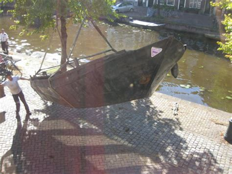 Boten Leiden by Veel Gezonken Boten In Leidse Wateren Sleutelstad Nl