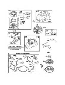 Briggs and Stratton Carburetor Parts Diagram