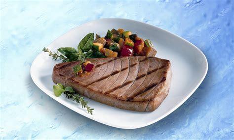 cuisiner steak de thon escal recette thon à la pizzaïola tomates ail oignon escal escargots crevettes et