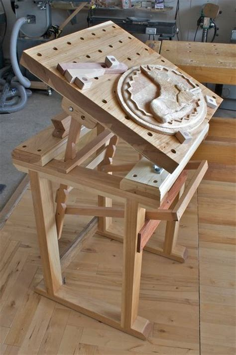 woodwork wood carving bench plans  plans