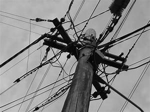 Electrical Wires Black And White