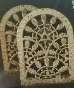 Fleur de lis home decor, where we cover everything about this style of decor. Antique Gothic Arch Heater Vent Cast Iron Cover Decorative Grate Lot | eBay