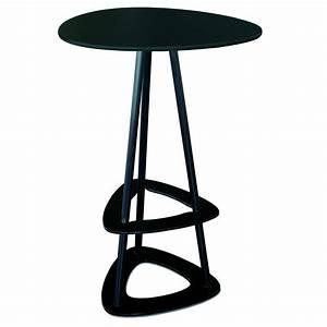Mange Debout Jardin : table haute mange debout design en acier et stratifi par miing ~ Teatrodelosmanantiales.com Idées de Décoration