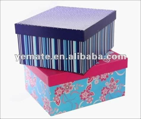Decorative Gift Boxes With Lids - green tree shape paper packaging gift box