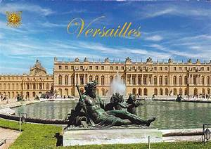 My postcard collection: France - Palace and Park of Versailles