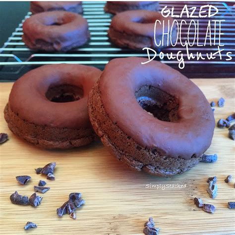 Please do not post recipes that include wheat, barley, rye or other gluten. High Fiber, Low Glycemic Chocolate Donuts! Healthy and ...