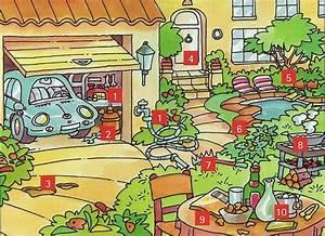 Garage En Anglais : jardin et garage fle vocabulaire logement pinterest vocabulario aula et lenguaje ~ Medecine-chirurgie-esthetiques.com Avis de Voitures