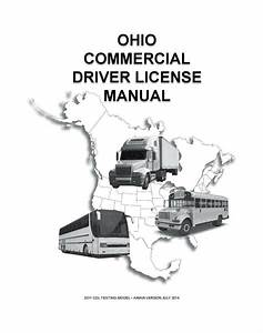 Commercial Driver U0026 39 S Manual For Cdl Training  Ohio  On Cd