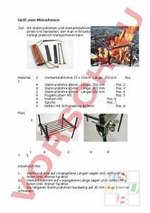 Grill Zum Mitnehmen : arbeitsblatt grill zum mitnehmen werken handarbeit metall ~ Eleganceandgraceweddings.com Haus und Dekorationen