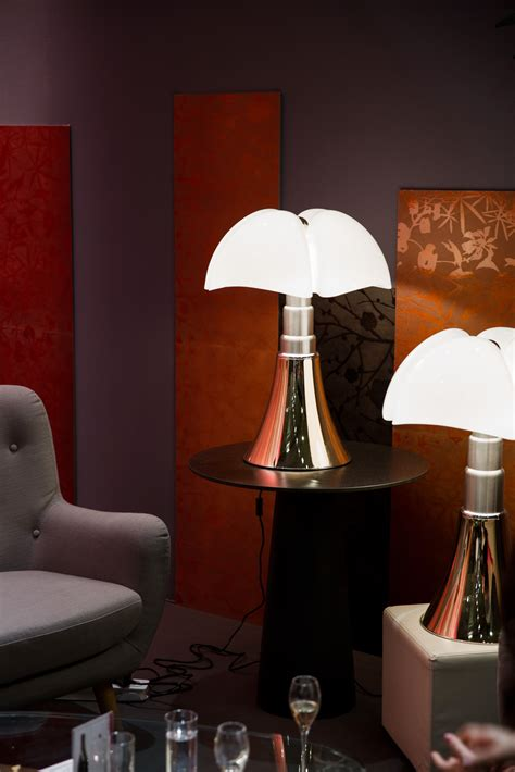 lampe  poser martinelli luce pipistrello blanc