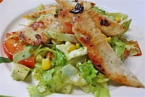 Leichte Salate Rezepte : sommer salat mit poulet rezept ~ Frokenaadalensverden.com Haus und Dekorationen
