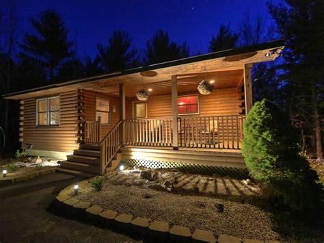bar harbor cottage rentals picture bar harbor log cabin set minutes from