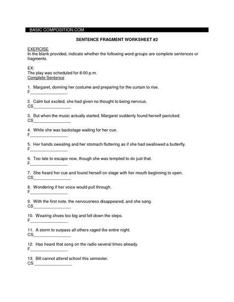17 Best Images Of Worksheets Simple Sentence Structure  Writing Simple Sentences Worksheets