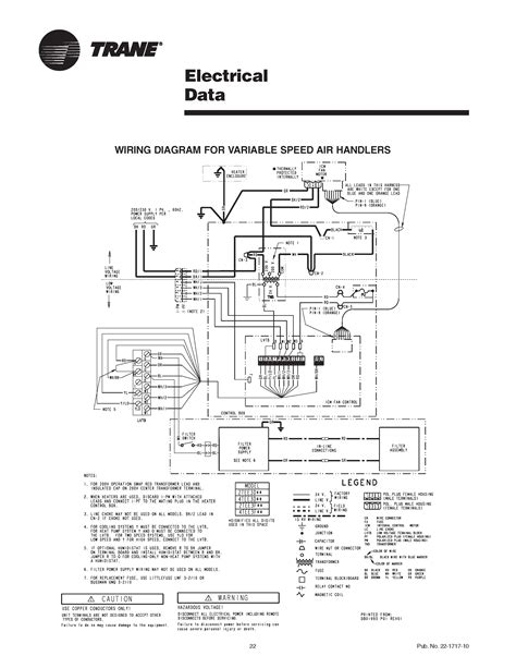 Electrical Wire Missing Trane Air Handler Variable