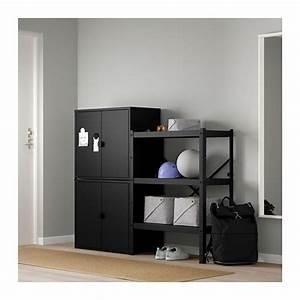 Ikea Regal Schrank : bror regal mit schrank ikea ~ Orissabook.com Haus und Dekorationen