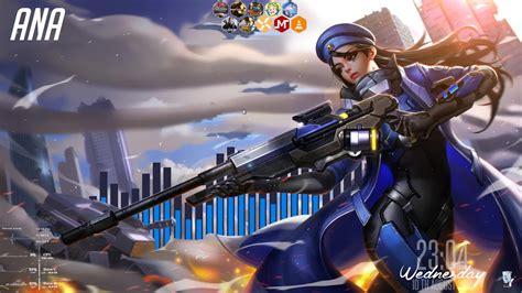 overwatch ana wallpaper photo gamers wallpaper p