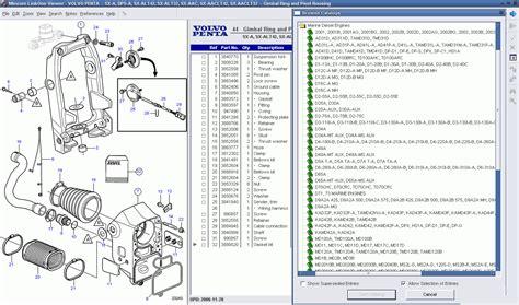volvo penta epc ii   parts manuals software