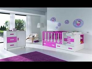 decoration chambre a coucher fille youtube With deco chambre de fille