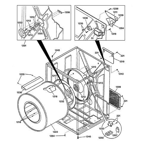 ge dryer parts diagram atkinsjewelry